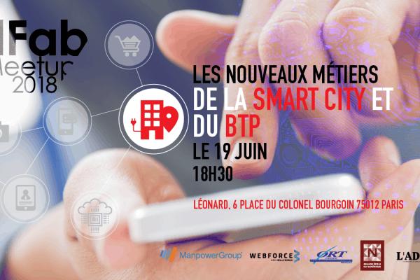 WebForce 3 partenaire du prochain EdFab Meetup sur la Smart City et le BTP