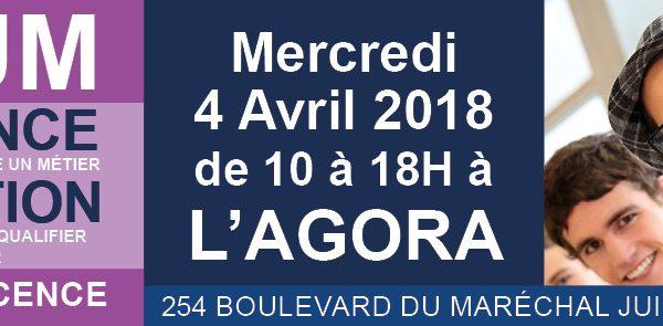 WebForce 3 sera au Forum « Formation et Alternance » de Mantes-la-Jolie