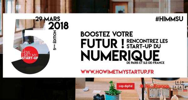 How I Met My Start-Up 2018 : 25 Start-ups ouvrent leurs portes à nos apprenants
