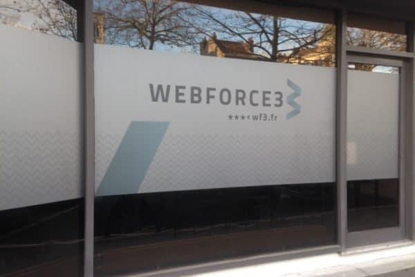 WebForce 3 reçoit la visite du Maire de Roubaix dans son école Lilloise