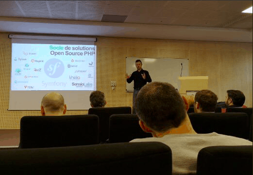 La Pépinière Symfony arrive avec WebForce 3 à Lyon