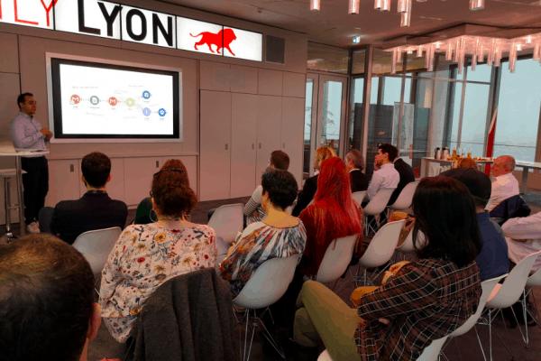 Conférence sur la transfo digitale avec nos stagiaires de Lyon