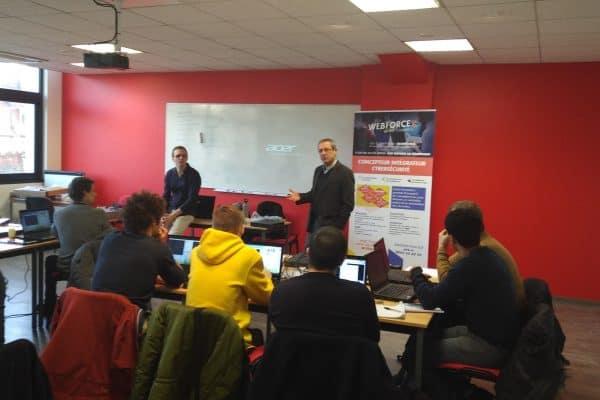 Lancement d'une session Cybersécurité à Strasbourg