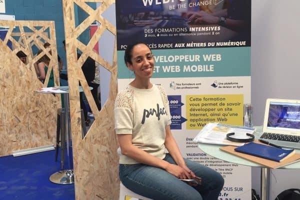 WebForce3 Paris participe au Village Numérique de Pôle Emploi