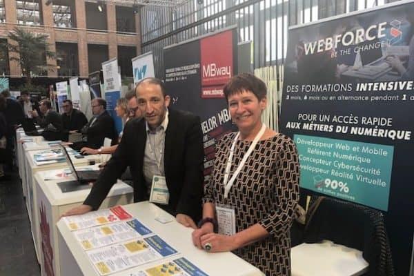 WebForce3 a participé au Forum Emploi DailyJobs d'EuraTechnologies à Lille