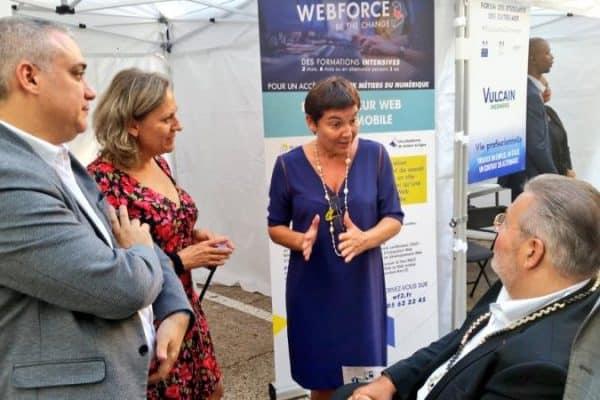 WebForce3 part à la rencontre des étudiants ultramarins au Forum des Étudiants d'Outre-Mer à Paris