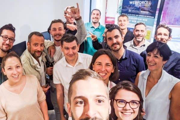 Une belle fin de session « Développeur Web et Web Mobile » à Carpentras
