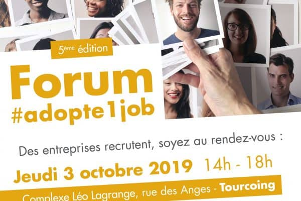 WebForce3 Lille était au Forum Adopte Un Job