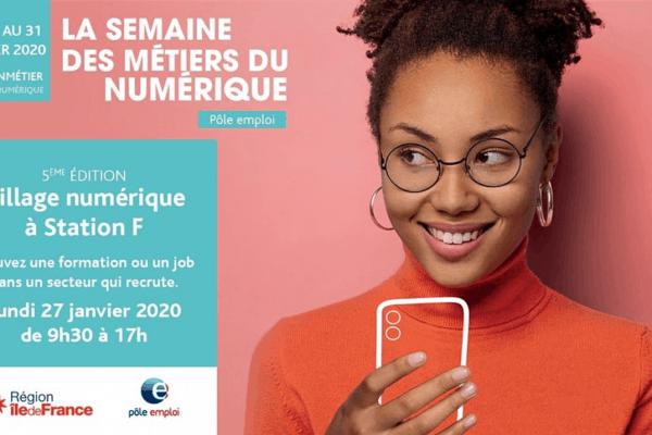 WebForce3 participe au 5ème Village Numérique de Pôle Emploi à Station F