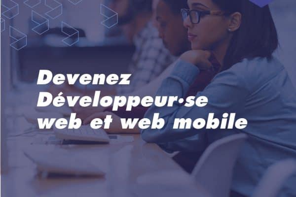 Formation Développeur Web et Web Mobile à Toulouse : en téléprésentiel et motivés