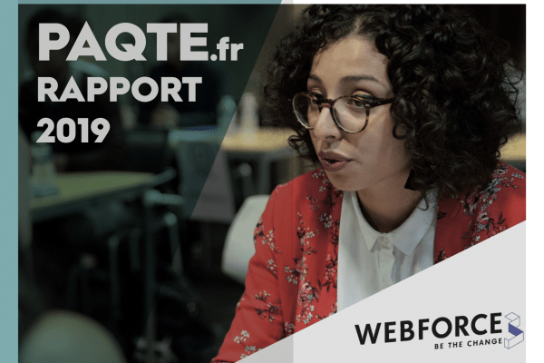 Publication du rapport PaQte de WebForce3 !