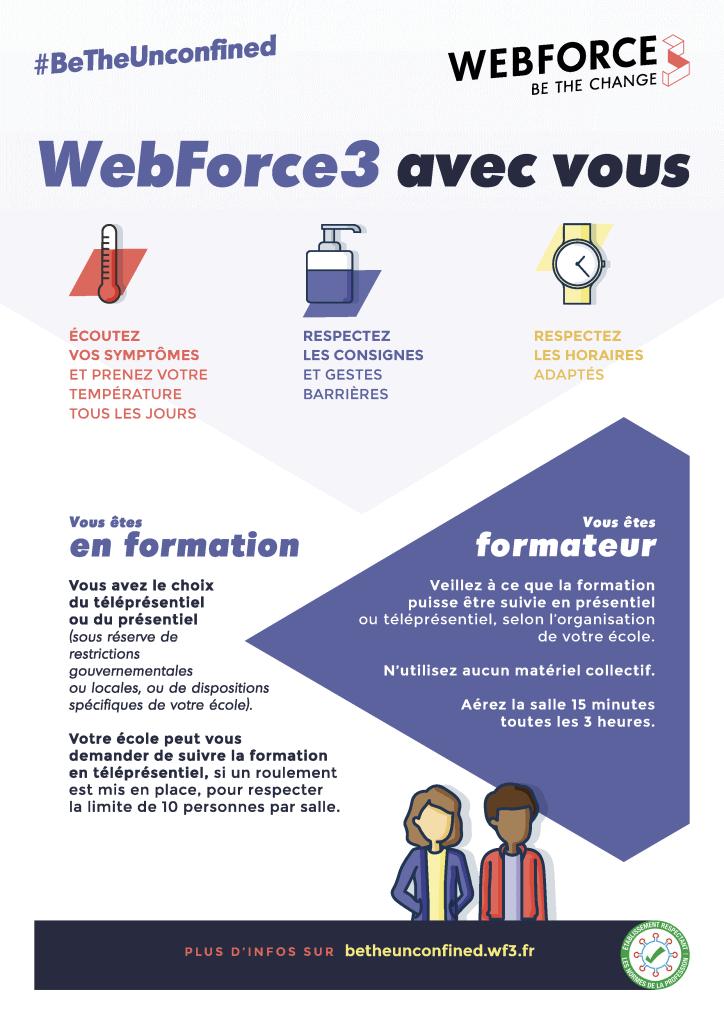 WebForce3 contre Covid-19